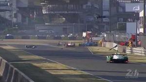 Massive Shunt For Leo Roussel - Le Mans 2014