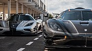 Koenigsegg Agera One:1 - World EXCLUSIVE first drive at Goodwood!!!