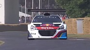 Sebastien Loeb Peugeot 208 T16 Pikes Peak hillclimb Run | Festival of Speed