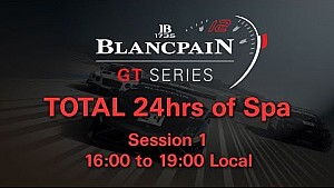 Total 24hrs of Spa 2014 Session 1 16:00-19:00