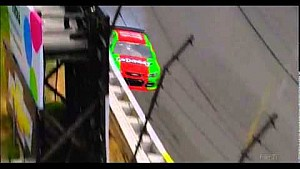 Danica Patrick crash - 2014 NASCAR Sprint Cup Pocono