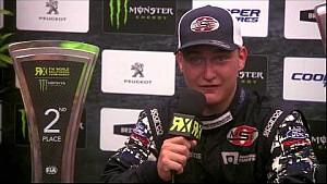 Loheac RX winners press conference - FIA World Rallycross Championship