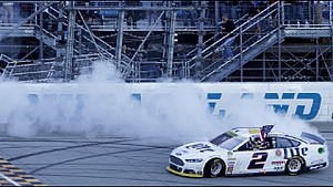 Keselowski wins the first race of the Chase