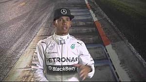 Japanese GP: Lewis Hamilton in the F1 Simulator