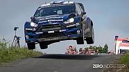 WRC Rally Deutschland 2014 | crashes, close calls jumps and drifts