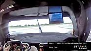 On-board Strakka DOME S103 at Paul Ricard Winter Test 2014