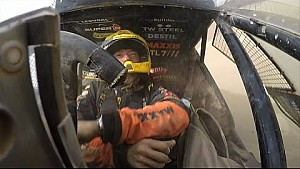 Dakar crash: Tom coronel rolls with his 2015 Maxxis Dakar buggy