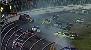 Un choque saca a varios contendientes de la Sprint Unlimited