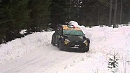 Lorenzo Bertelli crash - Rally Sweden