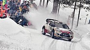 Rallying on Snowy Roads in Sweden