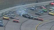 Denny Hamlin pierde el control, choca con Jeff Gordon, McMurray - Atlanta - 2015 NASCAR Sprint Cup