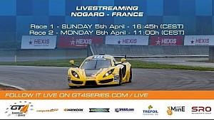 GT4 European Series - Carrera 2 - Nogaro 2015