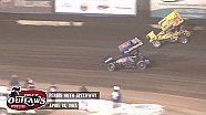 Highlights: World of Outlaws Sprint Cars Perris Auto Speedway April 18th, 2015