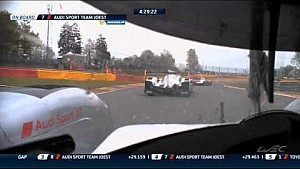Epic fight between Audi & Porsche - 2015 WEC Spa