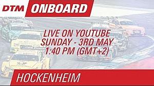 On Board LIVE : Pascal Wehrlein (DTM Hockenheim Course 2)