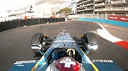 Onboard lap of the Monaco ePrix