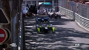 Enorme accidente envía a Bruno Senna por los aires - Fórmula E - Mónaco ePrix 2015