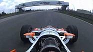 A bordo con Simon Pagenaud en el Indianapolis Motor Speedway