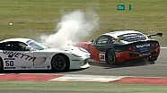 Adrian Newey's Big Crash, Ginetta G50 at Snetterton 2010