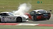 Adrian Newey's Big Crash, Ginetta G50 at Snetterton 2010