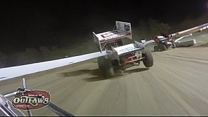 World of Outlaws On-Board: Kraig Kinser | Weedsport Speedway | May 17th, 2015