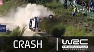 WRC - Vodafone Rally de Portugal 2015: Ketomaa CRASH