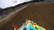 Onboard with Tony Cairoli in the 2015 FIM Motocross World Championship - MXGP of France