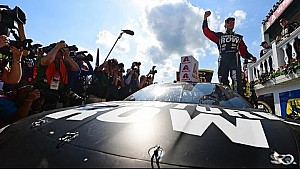 Truex celebrates on 'cloud nine' at Pocono