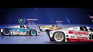 30 anos da Toyota em Le Mans: 1985-2015