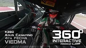 TC 360º: Una vuelta con Canapino