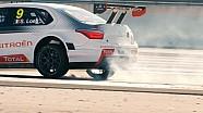 WTCC cars get the slomo treatment in Le Castellet