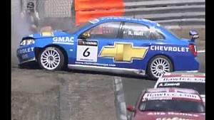 2007 World Touring Car Championship at  Zandvoort R2