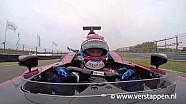 Jos Verstappen à bord de la Minardi PS01 à Zandvoort