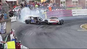 Bowman Gray Stadium - on track argument