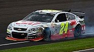 Gordon and Bowyer involved in wreck at Indy