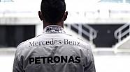 Lewis Hamilton teste la Mercedes-Benz GLE Coupé