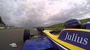 Un giro a Donington con Nicolas Prost