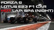 Forza Motorsport 6 - A lap around Spa at night in Lotus F1 car