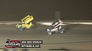 Highlights: World of Outlaws Sprint Cars Deer Creek Speedway September 19th, 2015