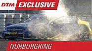 Holy Smokes! Paffett's Car Filled with Smoke - DTM Nürburgring 2015
