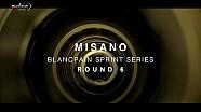 Preparation at Misano - Blancpain Sprint Series 2015