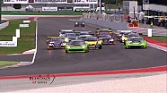 Main Race highlights - Misano Blancpain Sprint Series 2015