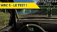 Notre découverte et notre test de WRC 5 !