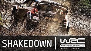 WRC Wales: Shakedown