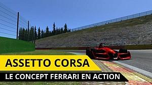 Assetto Corsa - Viens avec moi, dans ma Ferrari F1 Concept !