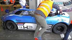 Forze - Recordpoging met waterstof racewagen op Circuit Park Zandvoort