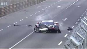 GP Macau: Crashs (2)