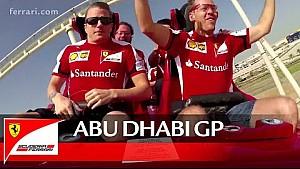 Räikkönen et Vettel au Ferrari World