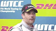 Loeb says goodbye to WTCC as drivers send him messages