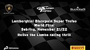 Lamborghini Blancpain Super Trofeo World Final Sebring 2015 - Video Highlights